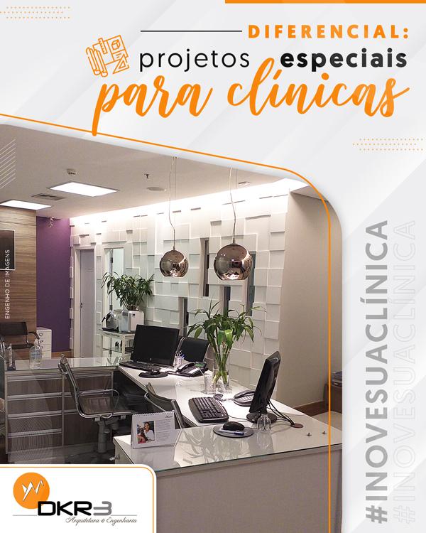 Diferencial: projetos especiais para clínicas