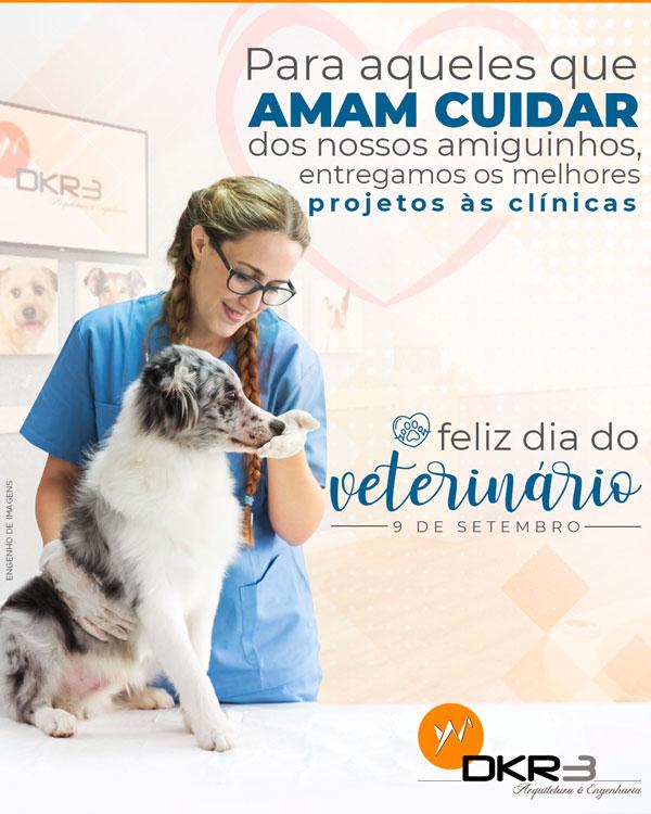 Feliz dia do veterinário!