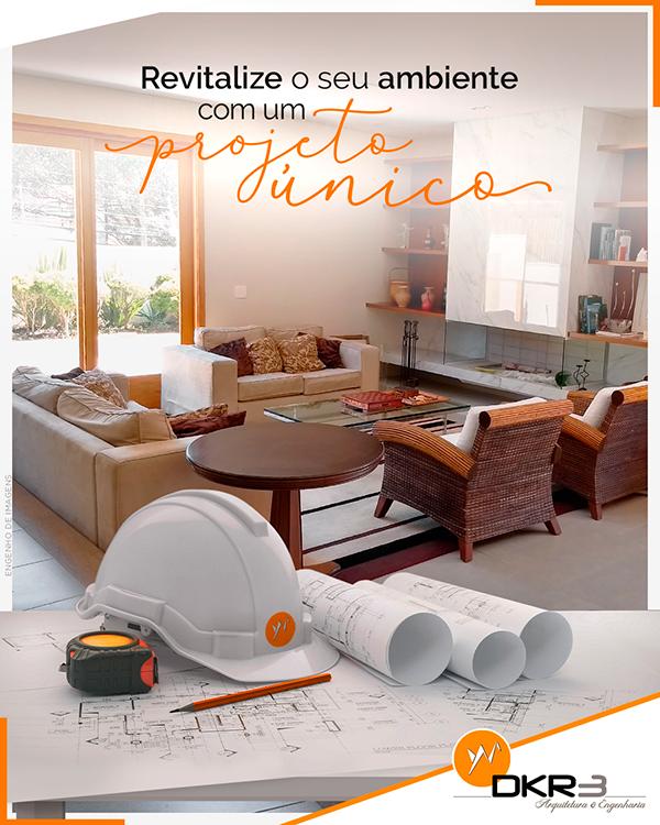 Revitalize o seu ambiente com um projeto único!