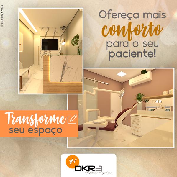 Ofereça mais conforto aos seus pacientes e transforme o seu espaço!
