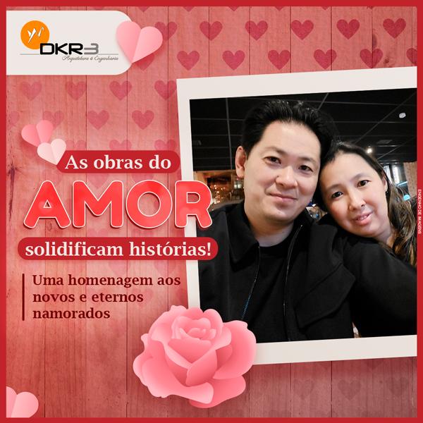 As obras do amor solidificam histórias!