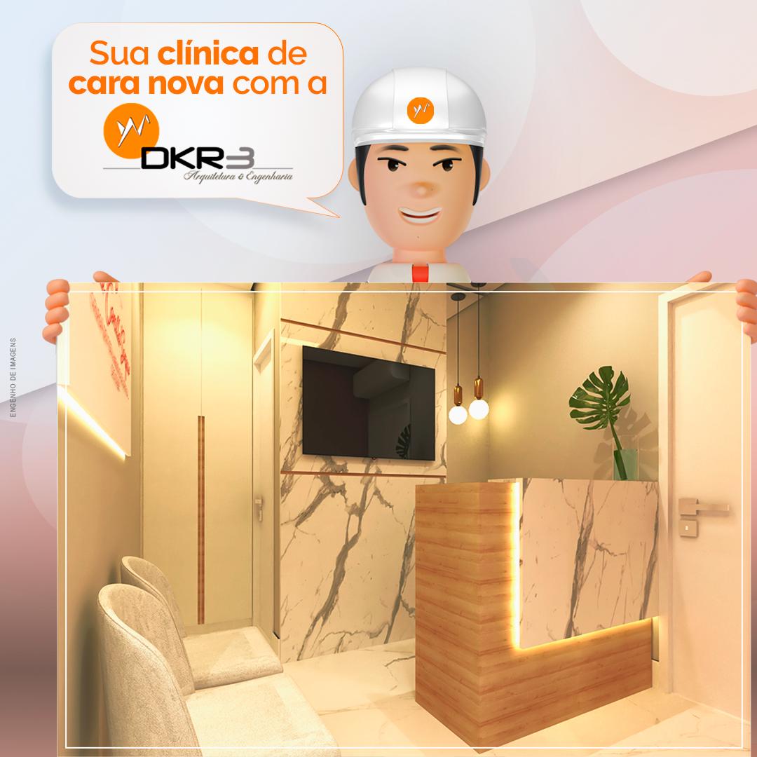 Sua clínica de cara nova com a DKR3!